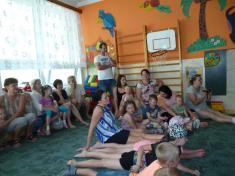Loučení se školáky v MŠ Horní Újezd - Obec HÚ a MŠ Horní Újezd