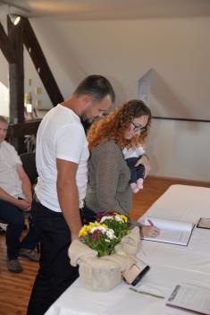 Vítání občánků - září 2018 - Obec Horní Újezd