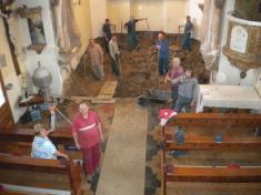 Oprava liturgického prostoru vroce 2013
