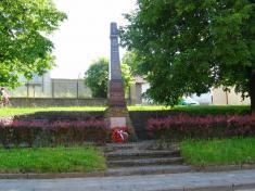 pomník padlým hrdinům I. aII. světové války vobci Horní Újezd