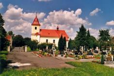 hřbitov akostel